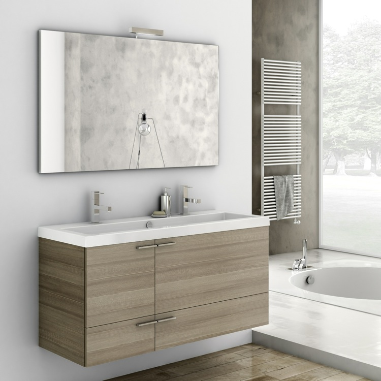 vanity size as sinks conjunction in also farmhouse set full well with style benchtop ikea of sink inch bathroom