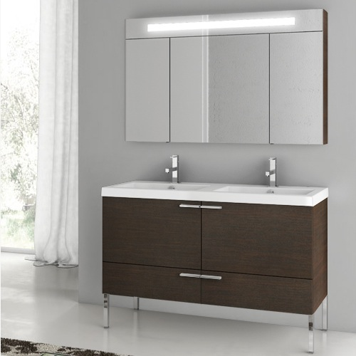 Bathroom Vanity, ACF ANS09, 47 Inch Bathroom Vanity Set