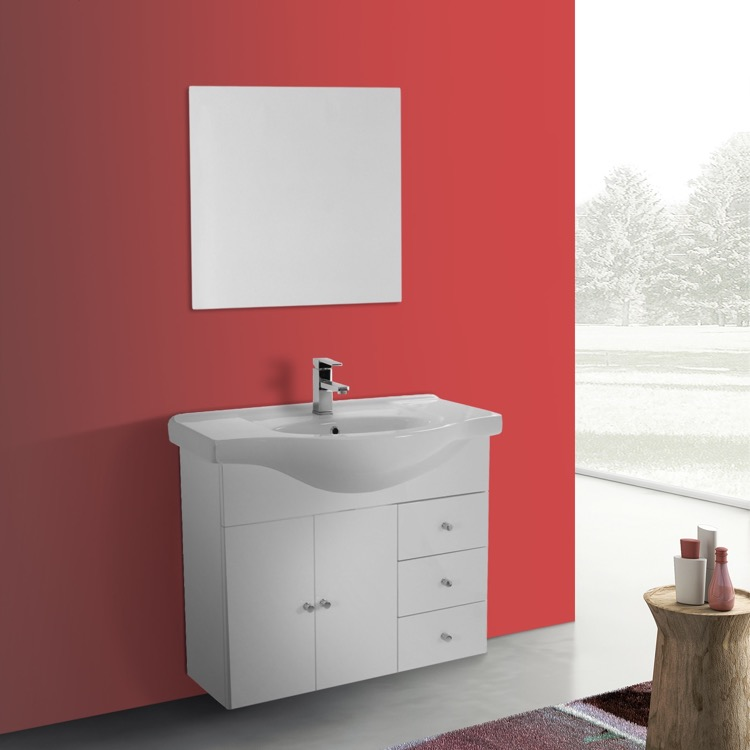 Acf Lon36 Bathroom Vanity London Nameek S