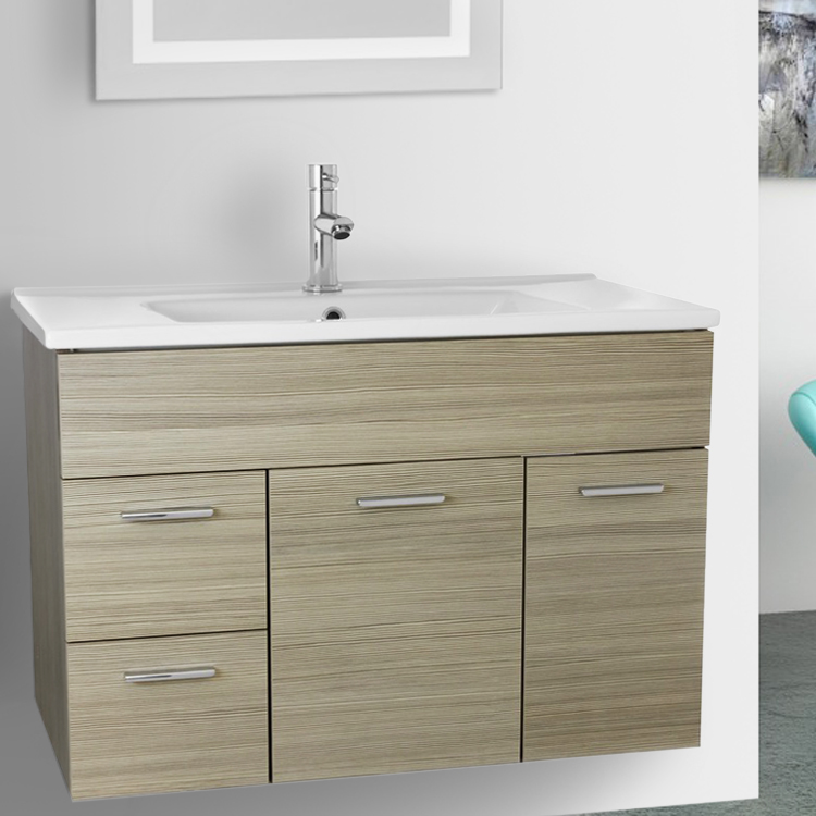 ACF LOR Bathroom Vanity Loren Nameeks - 33 inch bathroom vanity