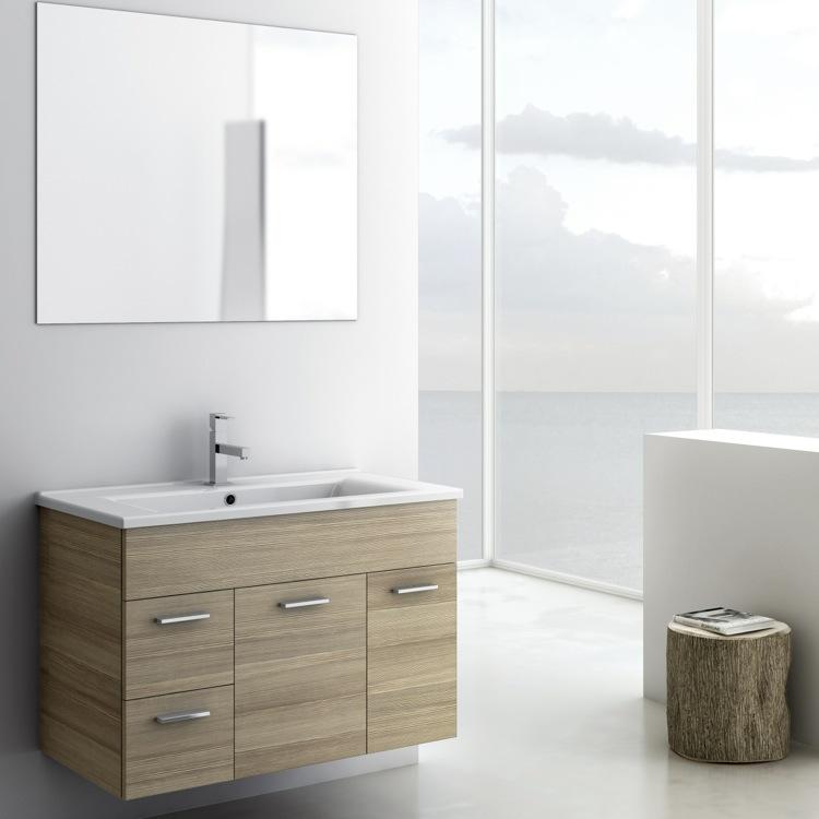 Bathroom Vanity, ACF LOR01, 33 Inch Bathroom Vanity Set