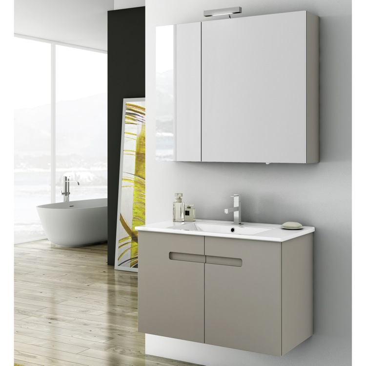 Bathroom Vanity, ACF NY06, 32 Inch Bathroom Vanity Set
