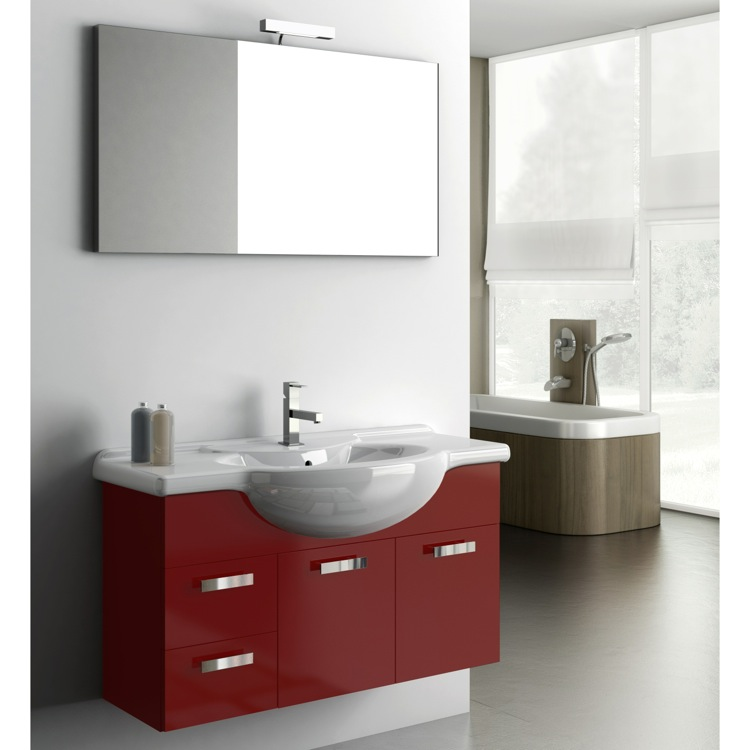 Bathroom Vanity, ACF PH03, 39 Inch Bathroom Vanity Set