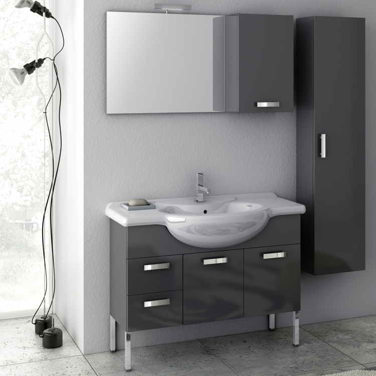 Bathroom Vanity, ACF PH07, 39 Inch Bathroom Vanity Set