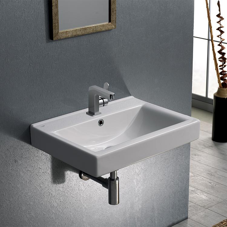 CeraStyle U Bathroom Sink Mona Nameeks - Drop in bathroom sink installation