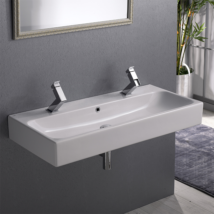 Cerastyle 080500 U Bathroom Sink Pinto Nameek S