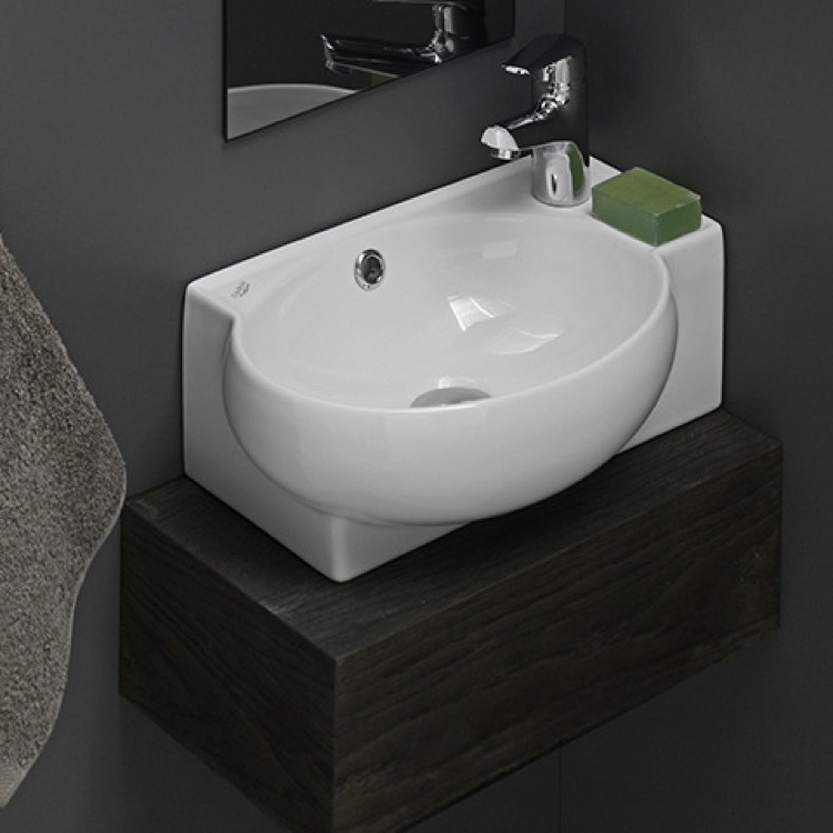 Cerastyle 001300 u bathroom sink mini nameek 39 s for Are vessel sinks out of style