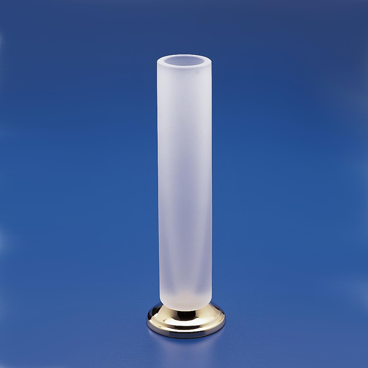 Vase, Windisch 61130MD, Tall Frosted Glass Bathroom Vase