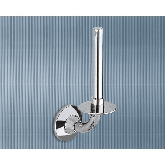Toilet Paper Holder, Gedy 2724-02-13, Chrome Spare Toilet Roll Holder
