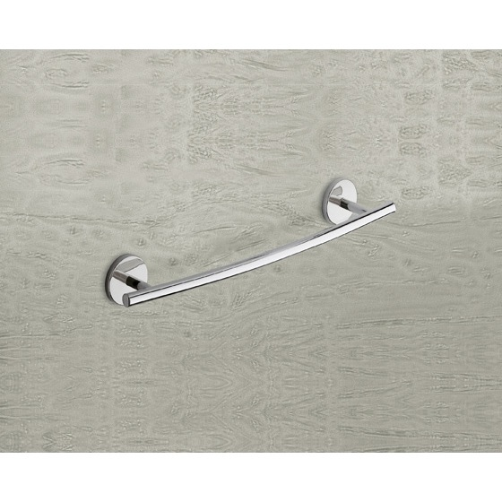 Towel Bar, Gedy 4221-45-13, Polished Chrome 18 Inch Towel Bar