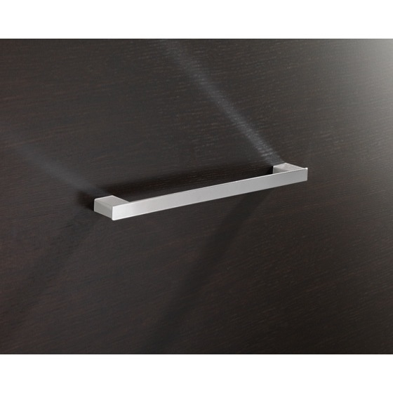 Towel Bar, Gedy 5421-45-13, Square 18 Inch Towel Bar In Polished Chrome