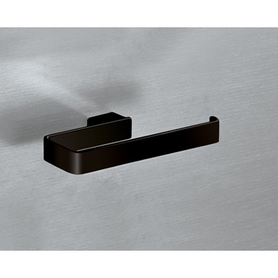 Towel Ring, Gedy 5470-M4, Square Matte Black Towel Ring