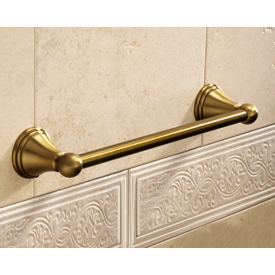 Towel Bar, Gedy 7521-35-44, Classic-Style Bronze 14 Inch Towel Bar