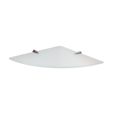 Bathroom Shelf, Gedy 2119-24, Corner Ultralight Glass Bathroom Shelf