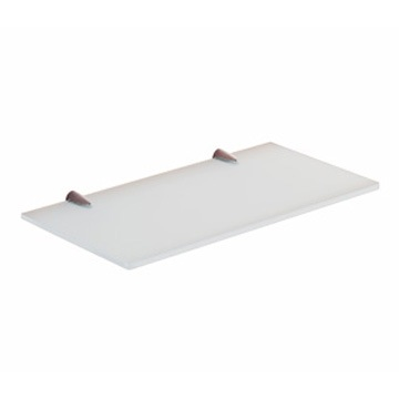 Bathroom Shelf, Gedy 2119-30, 12 Inch Ultralight Glass Bathroom Shelf