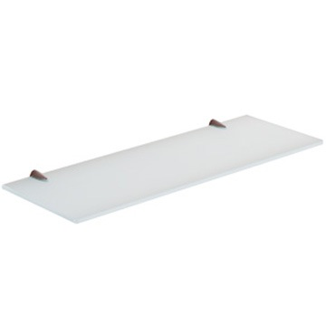 Bathroom Shelf, Gedy 2119-45, 18 Inch Ultralight Glass Bathroom Shelf