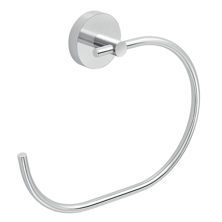 Towel Ring, Gedy 2370-13, C' Style Hand Towel Ring