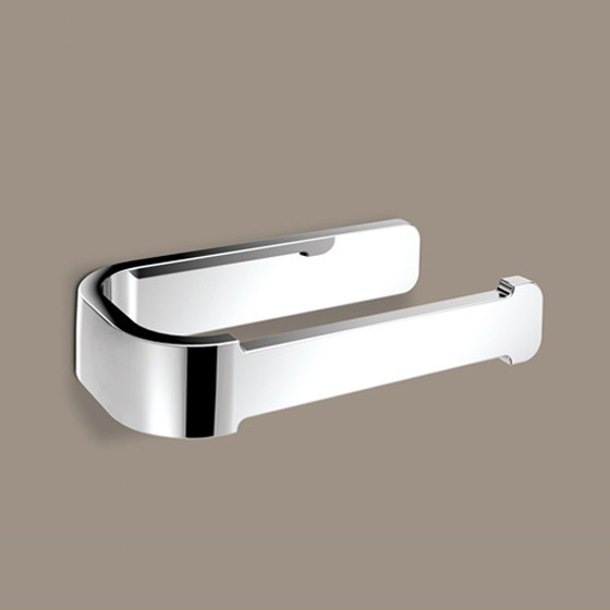 Toilet Paper Holder, Gedy 3224-13, Horizontal Chrome Toilet Paper Holder