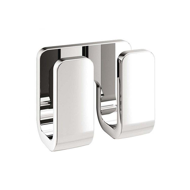 Bathroom Hook, Gedy 3228, Modern Double Robe Hook