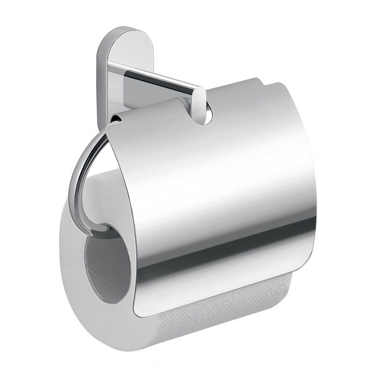 Toilet Paper Holder, Gedy 5325-13, Chrome Toilet Paper Holder With Cover