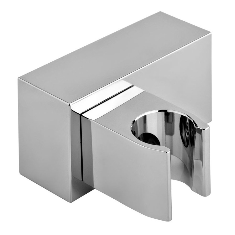 Hand Held Shower Bracket, Gedy A011077, Shower Bracket With Adjustable Fastening In Chromed ABS