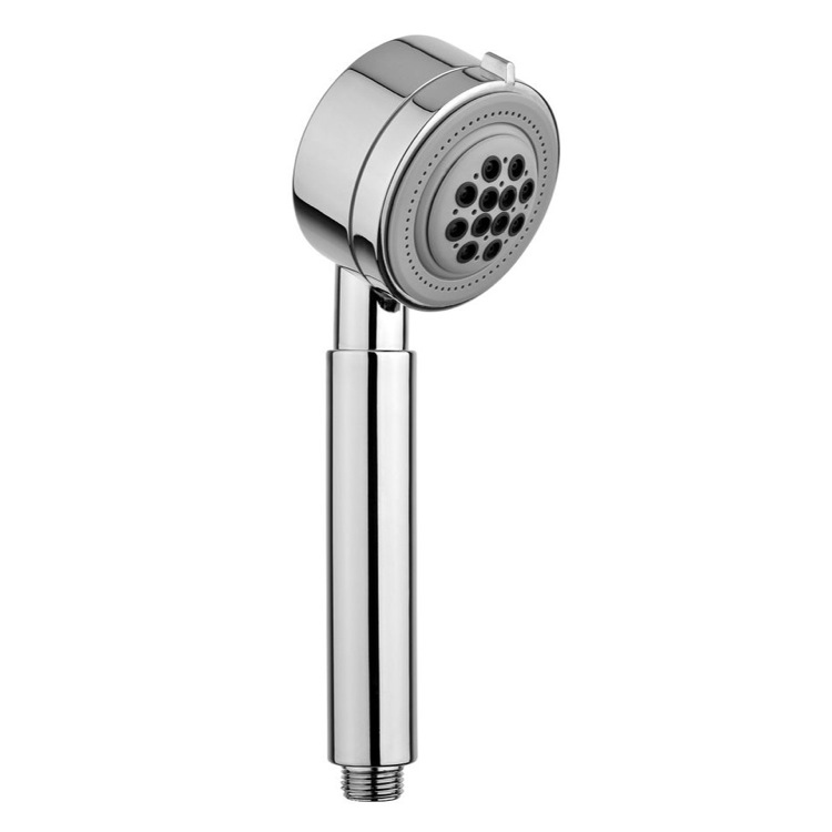 Handheld Showerhead, Gedy A011245, Chrome Hand Shower With 3 Functions