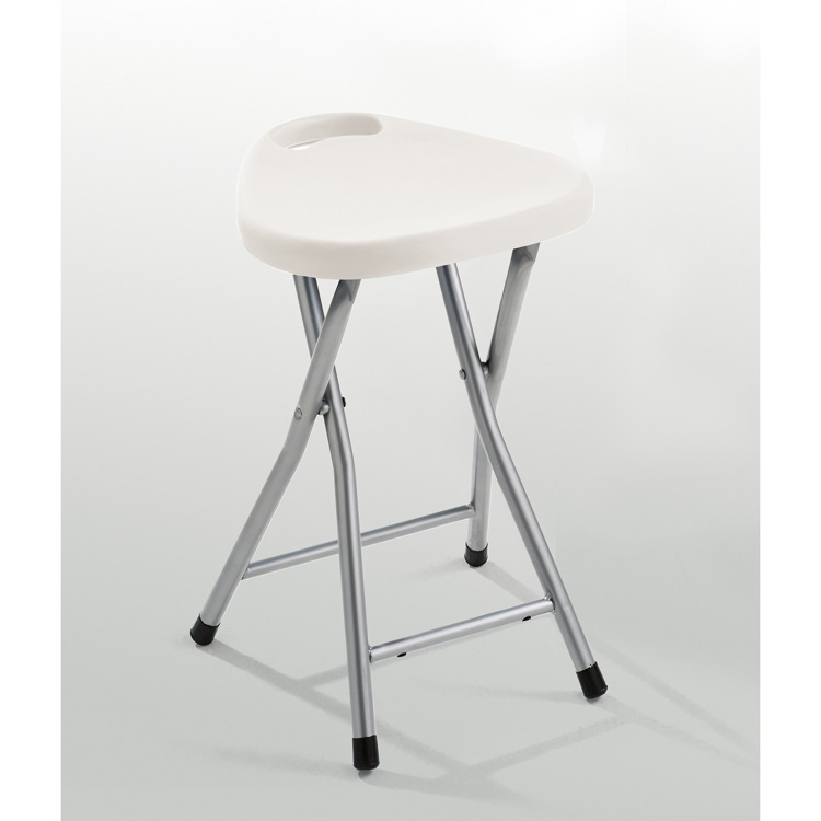 Bathroom Stool, Gedy CO75, Chrome Bathroom Stool With Assorted Color Seat