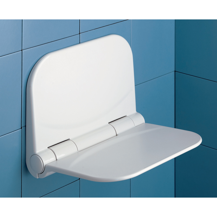 Shower Seat, Gedy DI82-02, Dino White Shower Seat
