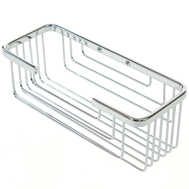 Shower Basket, Gedy 2419-13, Wall Mounted Chrome Shower Basket