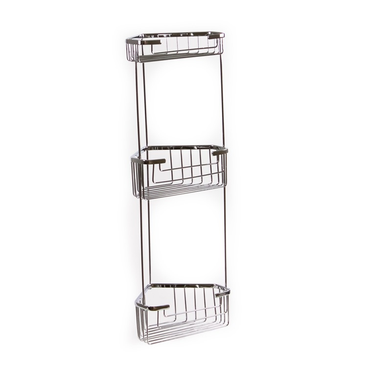 Gedy 2484 Shower Basket, Wire - Nameek\'s