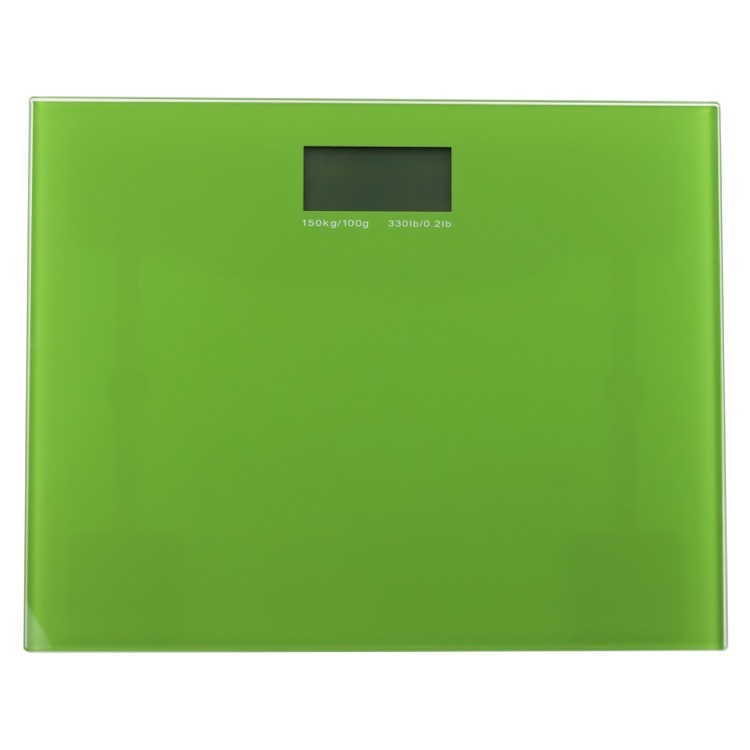 Scale, Gedy RA90-04, Square Green Electronic Bathroom Scale