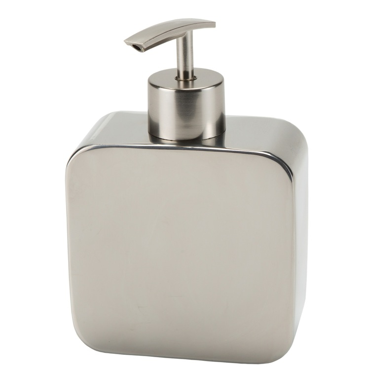 Soap Dispenser, Gedy PL80-13, Chrome Free Standing Soap Dispenser