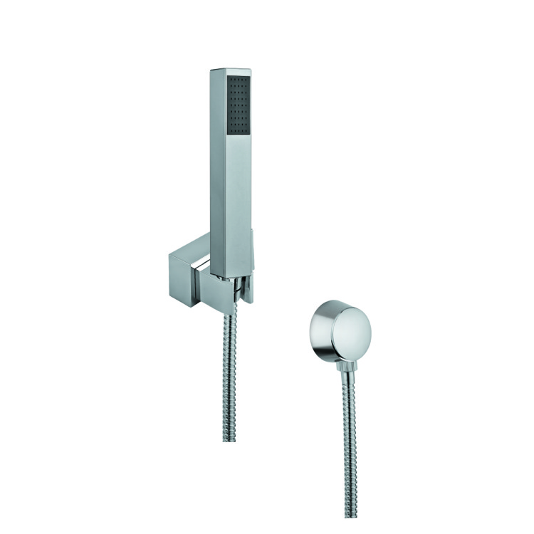 Handheld Showerhead, Gedy SUP1086, Hand Shower, Shower Bracket, and Water Connection