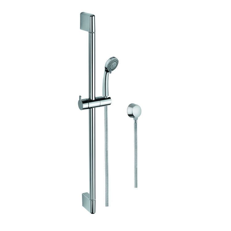 Handheld Showerhead, Gedy SUP1097, Hand Shower, Sliding Rail and Water Connection