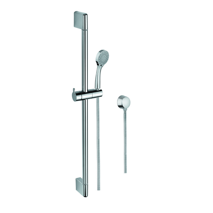Handheld Showerhead, Gedy SUP1101, Sliding Rail, Hand Shower, and Water Connection in Chrome