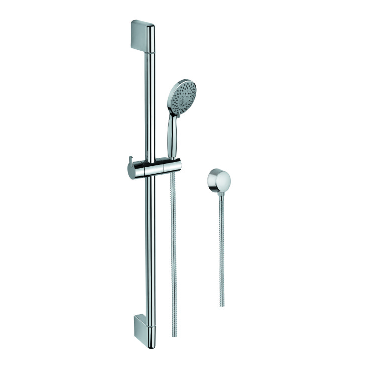 Handheld Showerhead, Gedy SUP1104, Hand Shower, Sliding Rail, and Water Connection