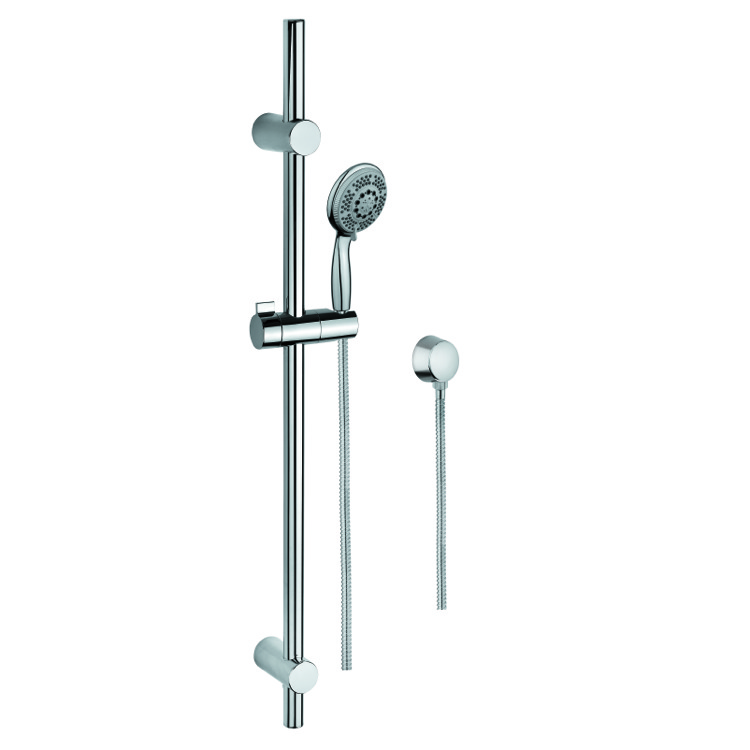 Handheld Showerhead, Gedy SUP1112, Sliding Rail, Hand Shower, and Water Connection
