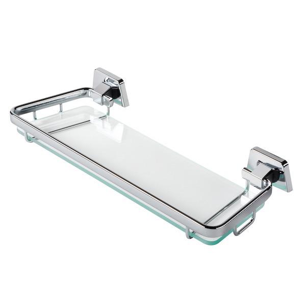 Bathroom Shelf Geesa 7248 35 14 Inch Clear Gl Holder With