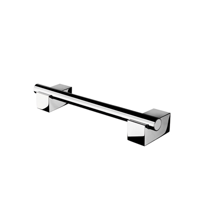 Shower Grab Bar, Geesa 7506-02, Chrome Shower Grab Rail