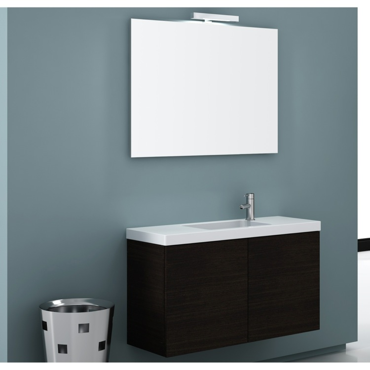 Bathroom Vanity, Iotti HD03, 40 Inch Bathroom Vanity Set