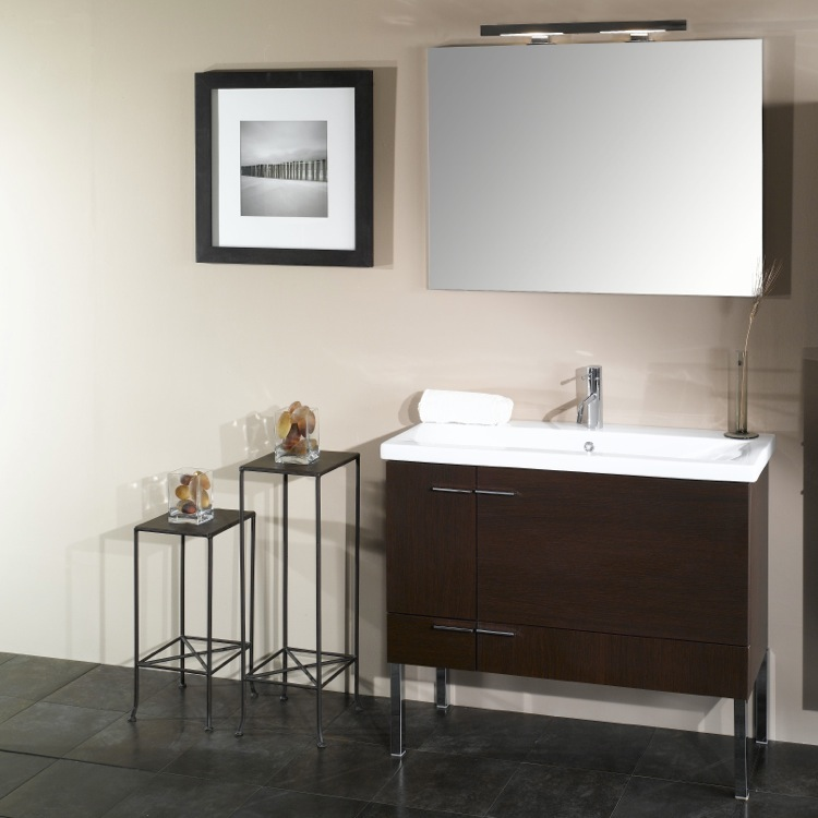 Bathroom Vanity, Iotti NS2, 38 Inch Bathroom Vanity Set