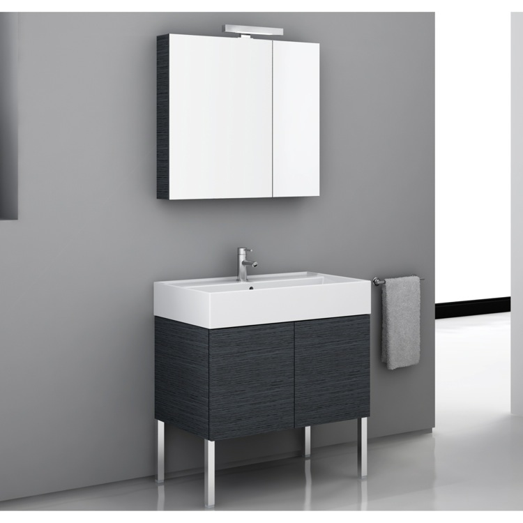 Bathroom Vanity, Iotti SM03, 32 Inch Bathroom Vanity Set