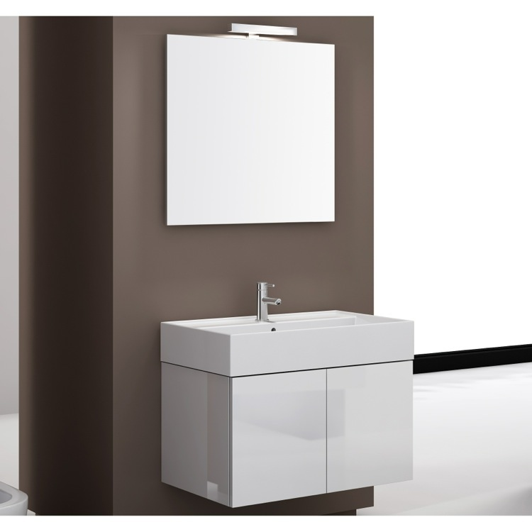 Bathroom Vanity, Iotti SM04, 32 Inch Bathroom Vanity Set