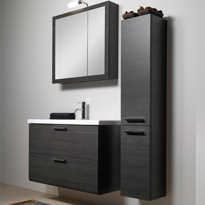 Bathroom Vanity, Iotti L16, 38 Inch Bathroom Vanity Set