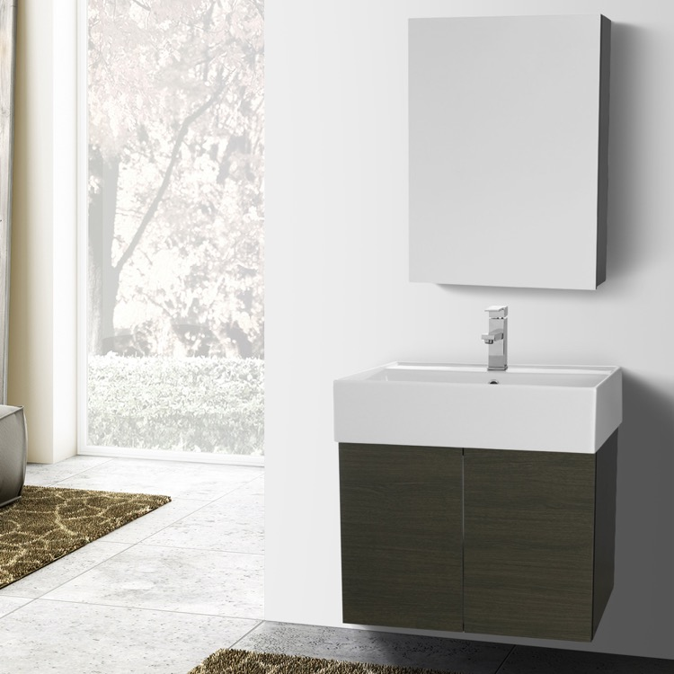Bathroom Vanity, Iotti SM02, 24 Inch Bathroom Vanity Set