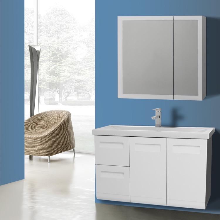 Iotti NG Bathroom Vanity Integral Nameeks - 38 inch bathroom vanity