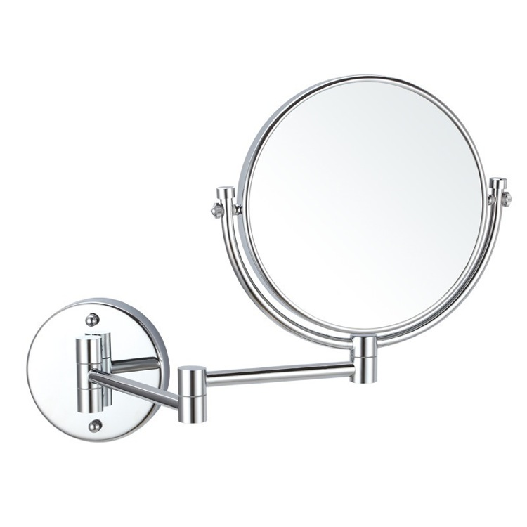 Makeup Mirror, Nameeks AR7707-CR-5x, Double Sided Wall Mounted 5x Makeup Mirror