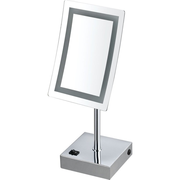 Makeup Mirror, Nameeks AR7715-CR-3x, Single Face LED 3x Makeup Mirror