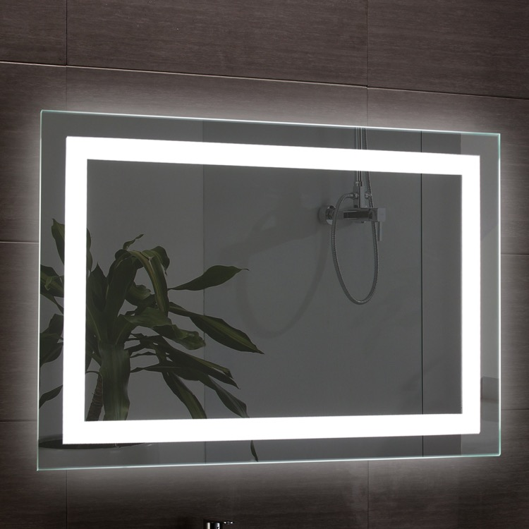 Vanity Mirror, Nameeks ARR03, 39 x 28 Inch Illuminated Vanity Mirror
