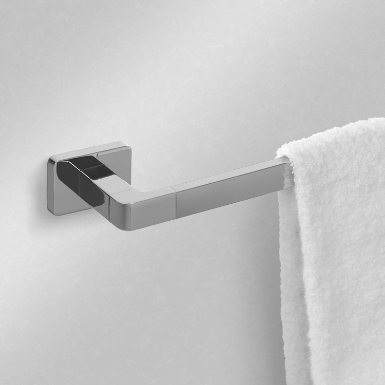 Towel Bar, Nameeks NCB13, 22 Inch Polished Chrome Towel Bar